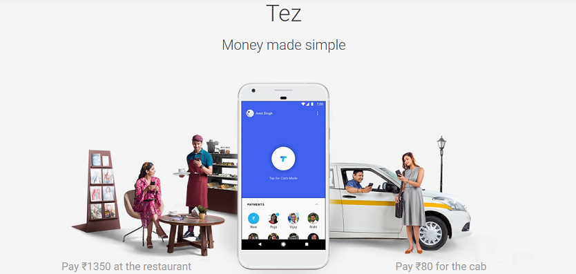google tez bill payment