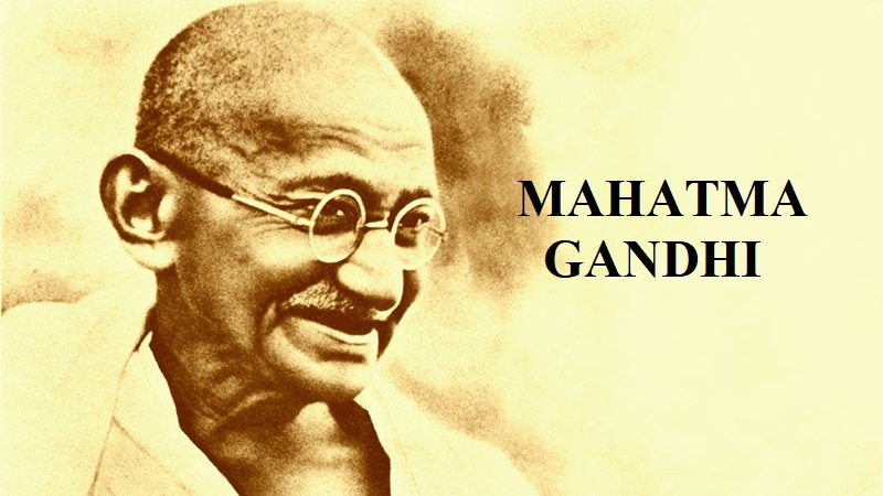 About Gandhi Ji In Hindi