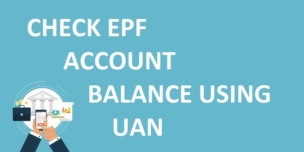 epf account UAN number