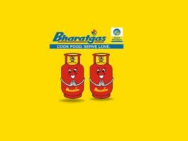 bharat gas booking number