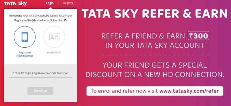 tata sky change channel online in hindi